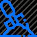 dig, farm, garden, ground, shovel icon