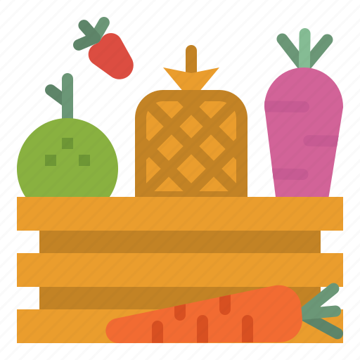 food, fruit, healthy, organic, salad, vegetables icon