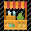 farming, food, fruit, market, organic, vegetables icon
