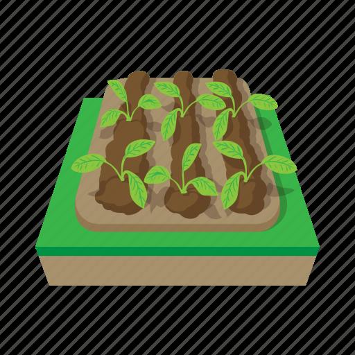 Background Bed Cartoon Earth Garden Ground Soil Icon Download On Iconfinder