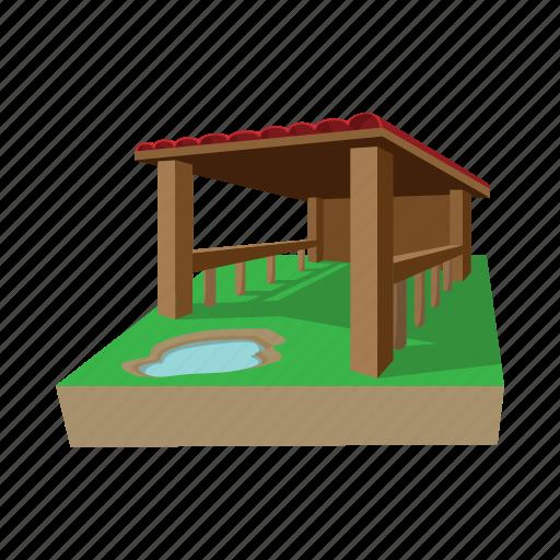 art, barn, building, cartoon, drawing, farm, graphic icon