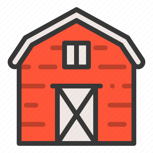 agriculture, barn, farm, farmer, house icon