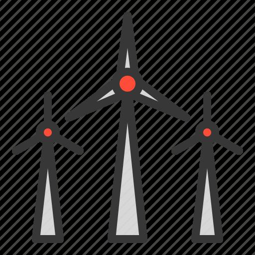 energy, equipment, farm, wind, windmill icon