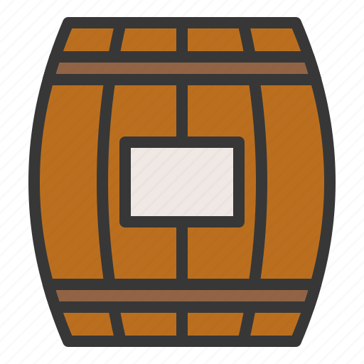 barrel, bear barrel, farm, wine barrel icon