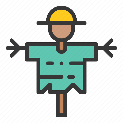 equipment, farm, farming, scarecrow icon