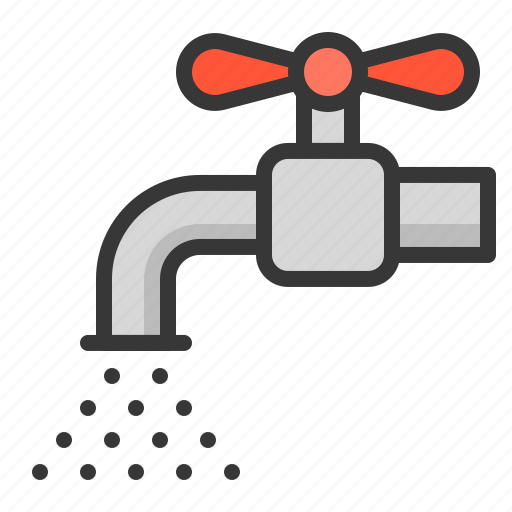 equipment, farm, tap, water icon