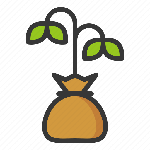 equipment, farm, sprout, tree icon
