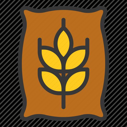 equipment, farm, fertilizer, manure, wheat icon