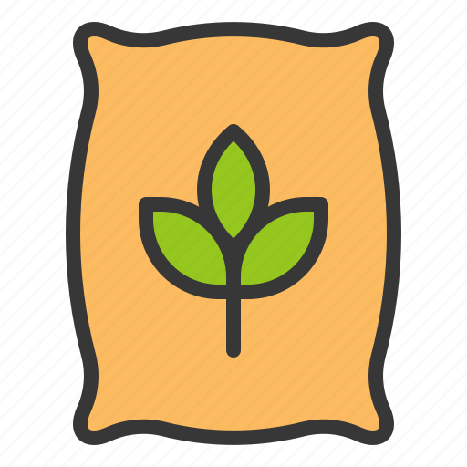 Farm, equipment, manure, fertilizer icon