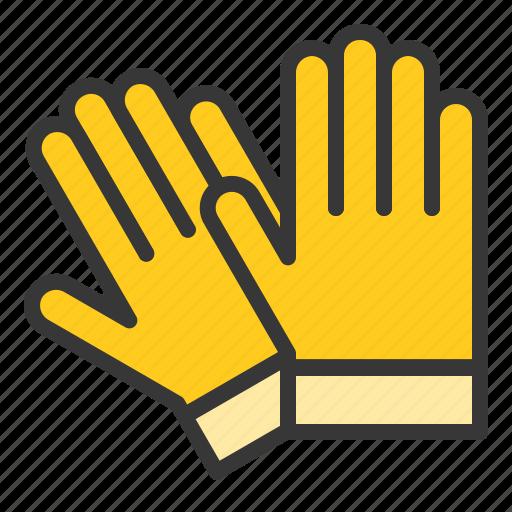equipment, farm, glove, hand icon