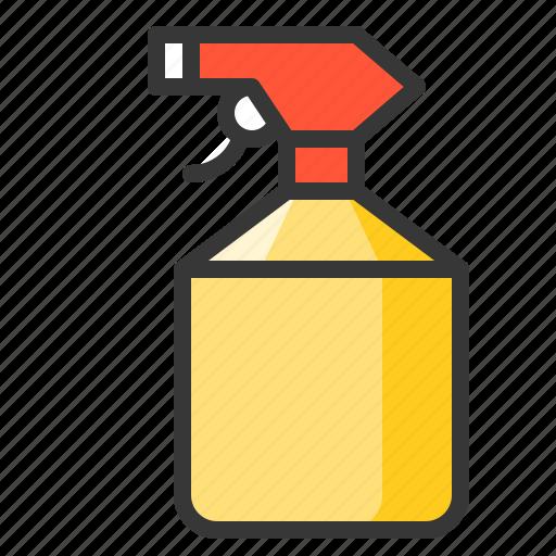 equipment, farm, spray bottle, watering icon