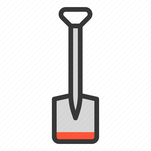 Farm, equipment, agricultural equipment, hoe icon