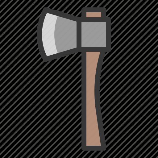 agricultural equipment, axe, equipment, farm icon