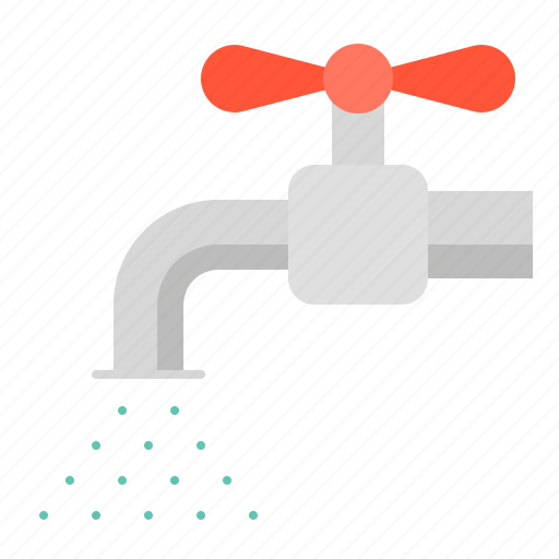 equipment, farm, tap, water, watering icon