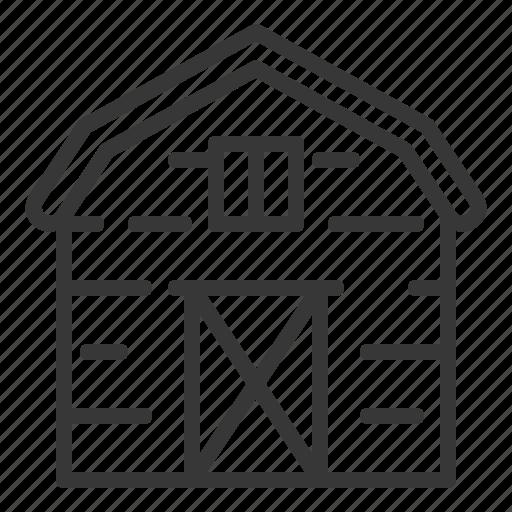 agriculture, barn, farm, house icon