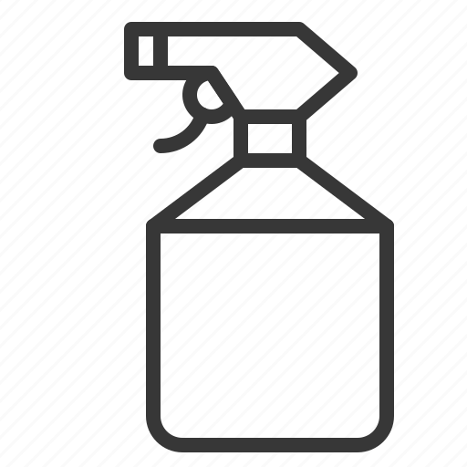 equipment, farm, spray bottle, watering icon