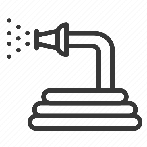 agricultural equipment, equipment, farm, hose, watering icon