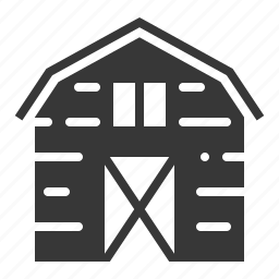 agricultural, barn, equipment, farm, house icon