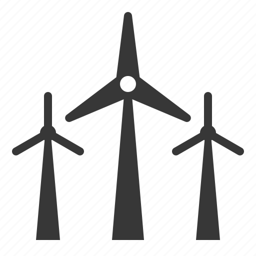 agricultural, farm, green energy, windmill icon