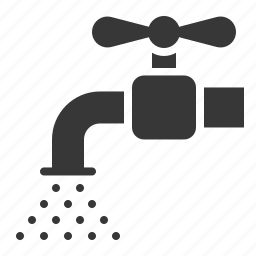 agricultural, equipment, farm, tap, water icon