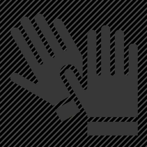 agricultural, equipment, farm, glove, hand icon