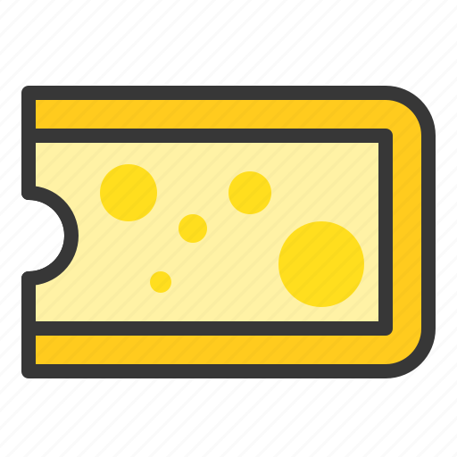 cheese, dairy product, farming, food icon