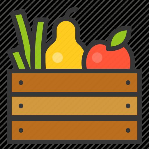 apple, farming, fruit, fruit basket, rose apple icon