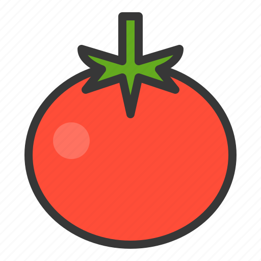 farming, food, tomato, vegetable icon