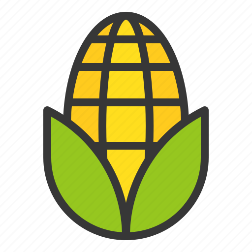 corn, farming, food, vegetable icon
