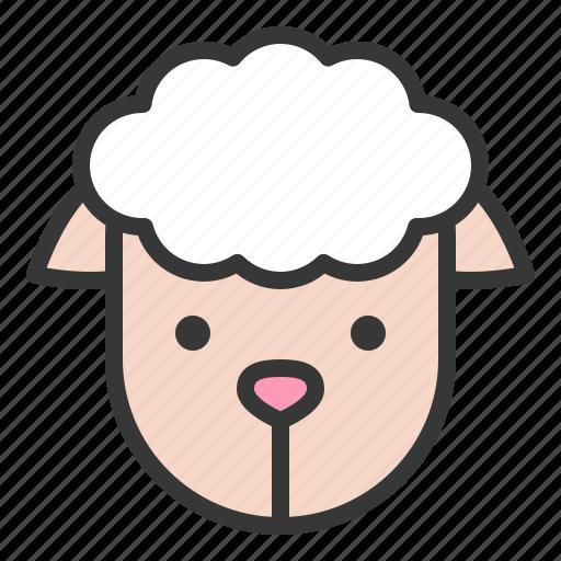 Farm, sheep, farming, animal icon - Download on Iconfinder