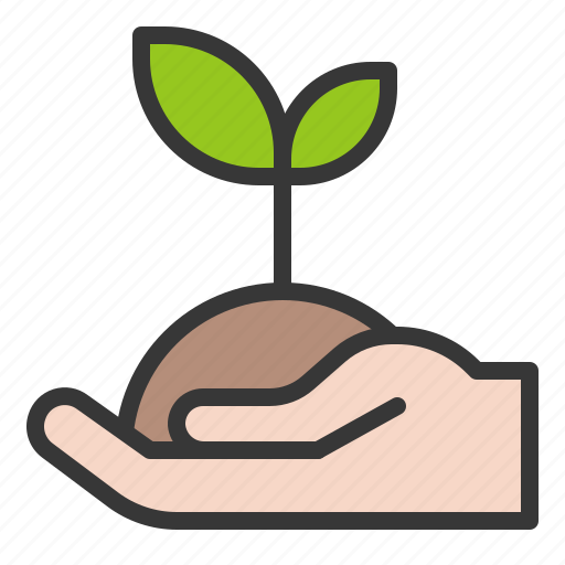farming, seedling, sprout, tree, young plant icon