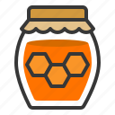 farming, food, honey, honey jar, sweets icon