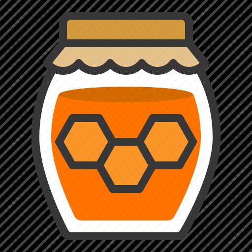 farming, food, honey, honey jar, sweets icon