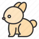 animal, farm, farming, rabbit icon