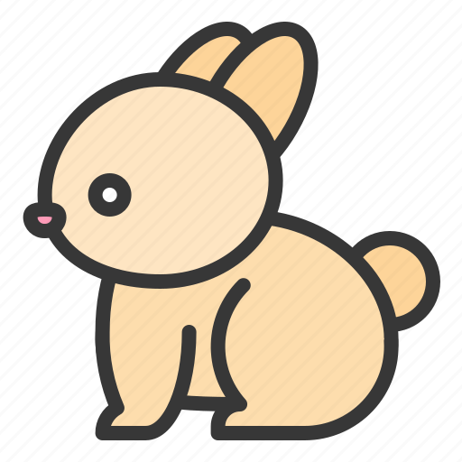 animal, farm, farming, rabbit icon