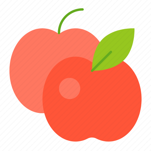 apple, farm, food, fruit, vitamin icon