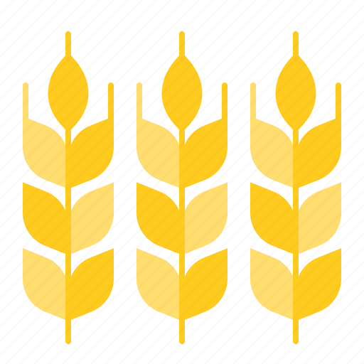 farm, farming, nature, oraganic, wheat icon