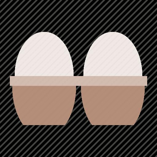 egg, egg tray, farm, food icon