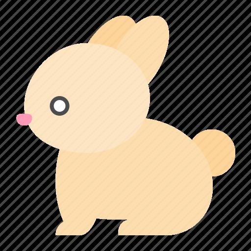 animal, cute, farm, rabbit icon