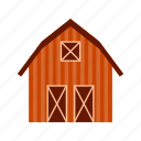 agriculture, barn, farm, farming, field, harvest, rural icon