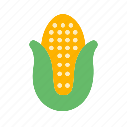 corn, food, healthy, maize, nutrition, vegetable icon