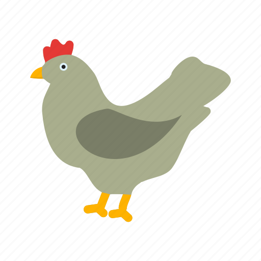 agriculture, chicken, farm, hen, livestock, poultry icon