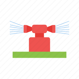 agriculture, farming, irrigation, spray, sprinkler, system, water icon