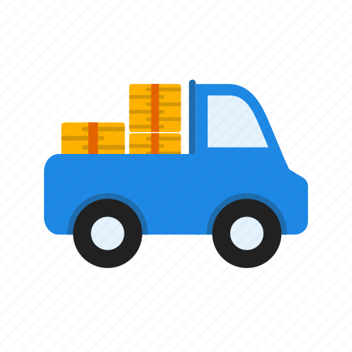 auto, pickup, power, transport, truck, vehicle, wheel icon