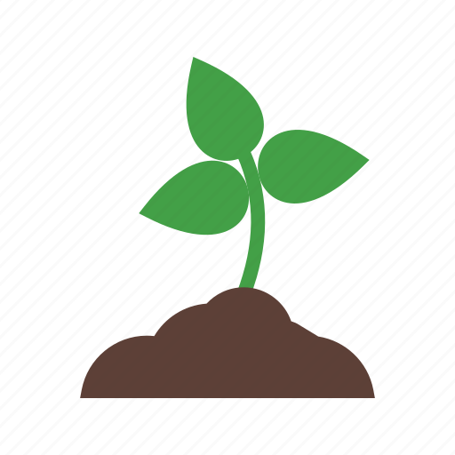green, nature, plant, planting, plants, soil, tree icon
