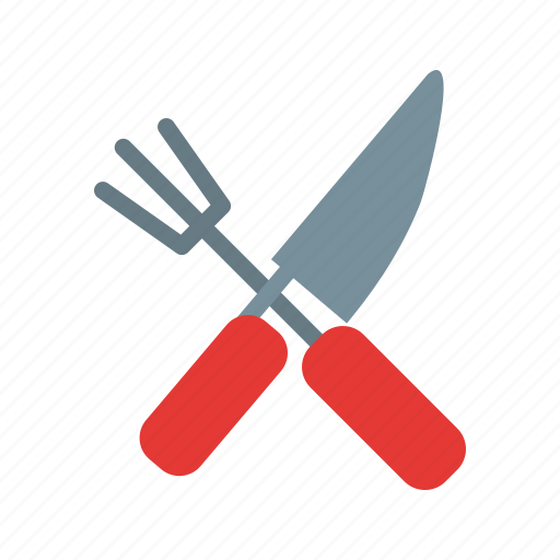 farm, gardening, rake, shovel, spade, tools icon