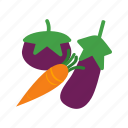 food, fresh, green, healthy, leaf, organic, vegetables icon
