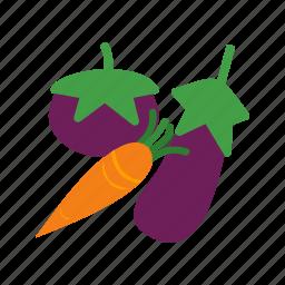 food, fresh, green, healthy, leaf, organic, vegetables icon