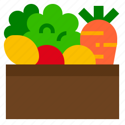 food, healthy, vegetables icon