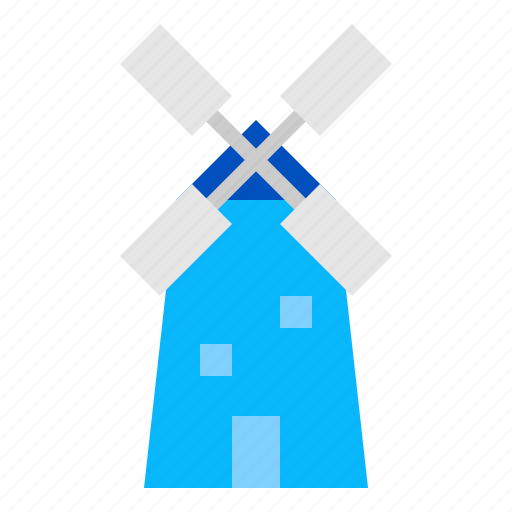 energy, wind, windmill icon